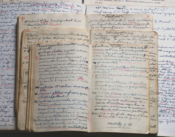 Collection of manuscripts of Carl Jung